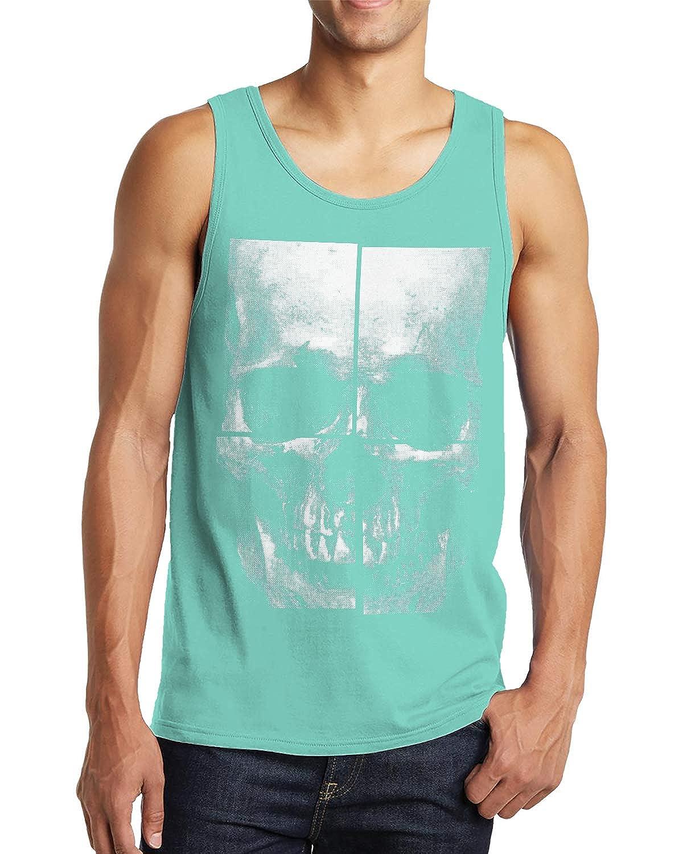 SpiritForged Apparel Oversized Skull Mens Tank Top
