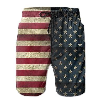 Amazon.com: suining AB estilo bandera americana retro ...