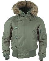 Mil-Tec N2B Flight Jacket Olive