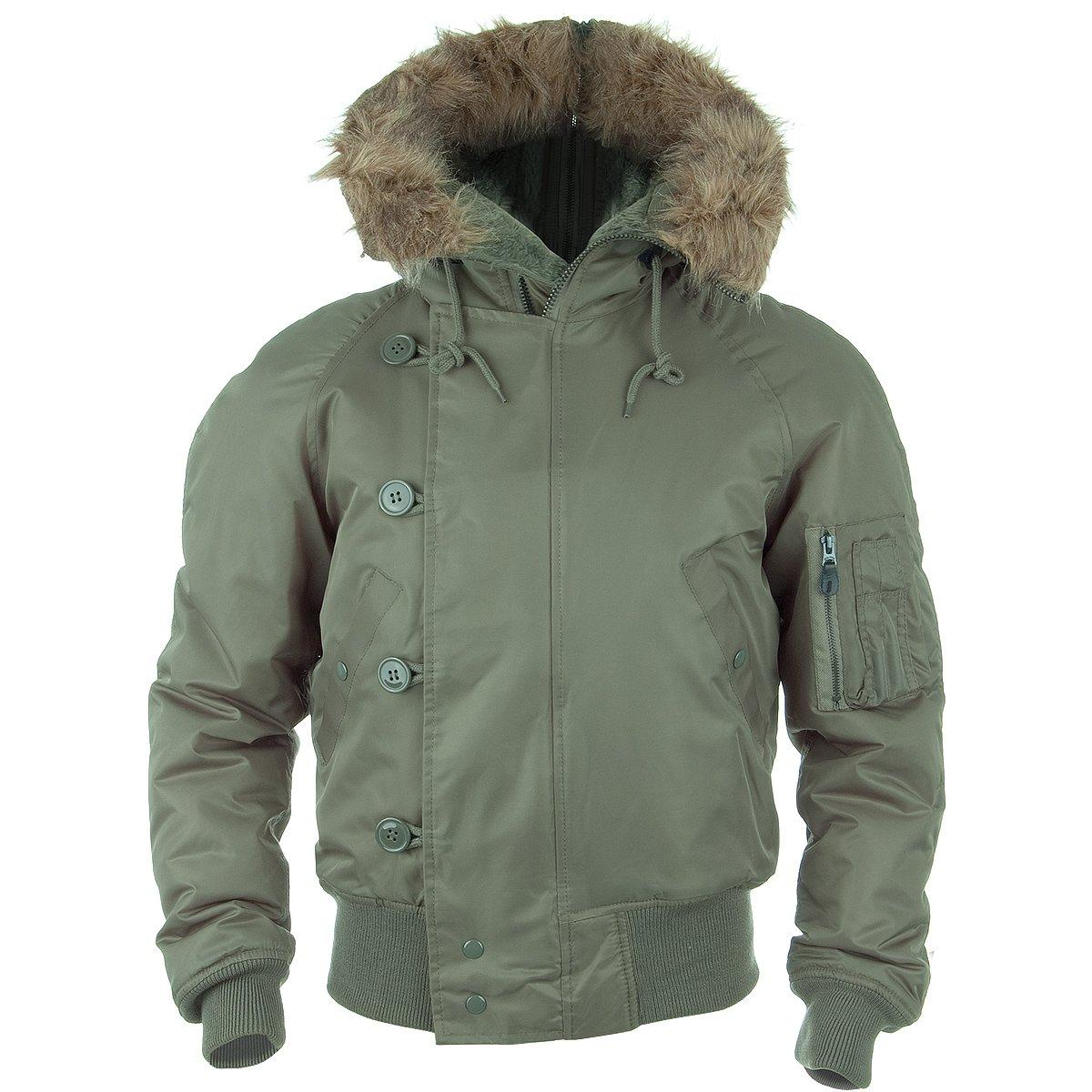 Mil-Tec N2B Flight Jacket Olive size XL
