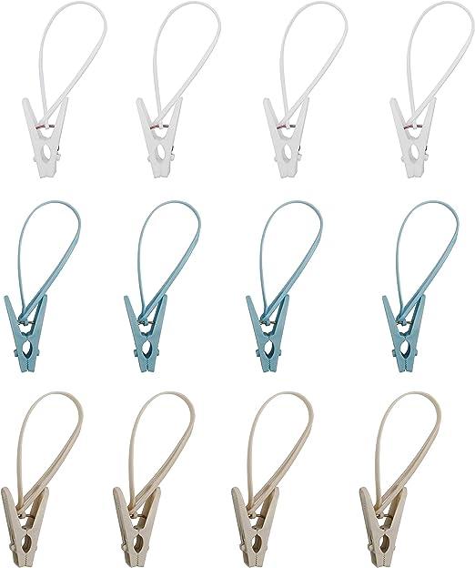 Multi-Use Clothesline Pins with Hooks