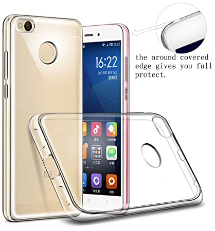 new products db248 e8e86 Febelo Ultra Thin Transparent Exclusive Soft Back Cover for Xiaomi Mi Redmi  4 (May 2017 Launch)
