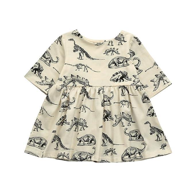 Amazon.com: Sacherron Falda Infantil Niña Bebé Niña Dibujos ...