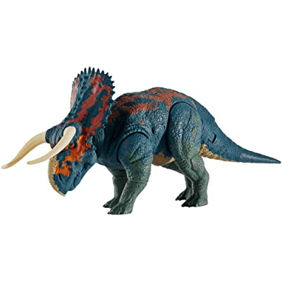 Jurassic World Dual Attack Nasutoceratops: Toys & Games