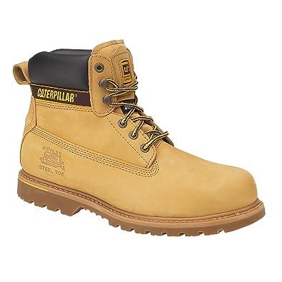 49cda5467e302f Caterpillar Chaussures Montantes de sécurité S3 Holton pour Homme (40 EUR) ( Miel)