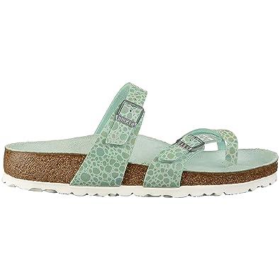 f1038528c0c3 Birkenstock Unisex Mayari Metallic Stones Birko-Flor Sandals  Amazon ...