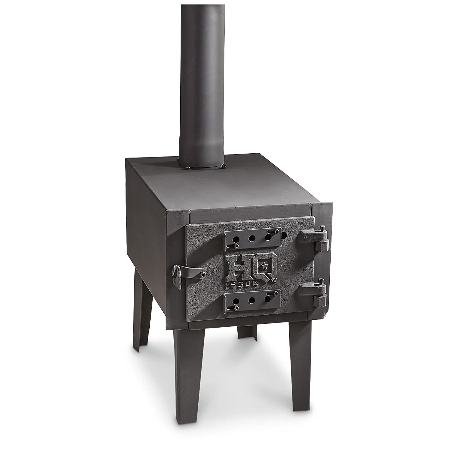 amazon com hq issue outdoor wood stove sports u0026 outdoors