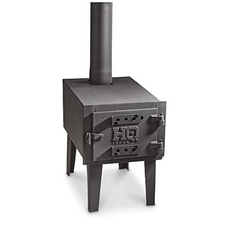 Amazoncom Guide Gear Outdoor Wood Stove Sports Outdoors