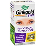 2Pack! Nature's Way Ginkgold Eyes - 60 Tablets