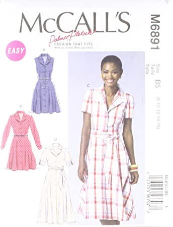 McCall Pattern Company McCalls MC 6891 B5 (8-10-12-14-16 ...