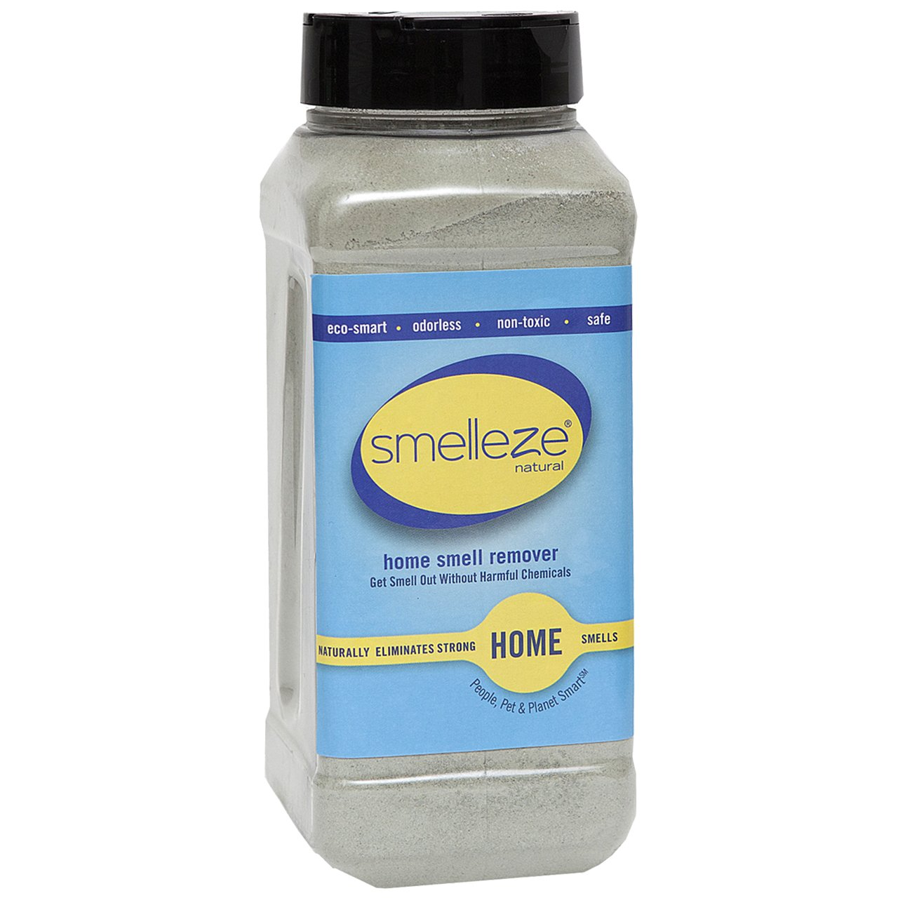 SMELLEZE Natural Room/House Odor Eliminator Deodorizer: 50 lb Granules Get Home Smell Out Fast