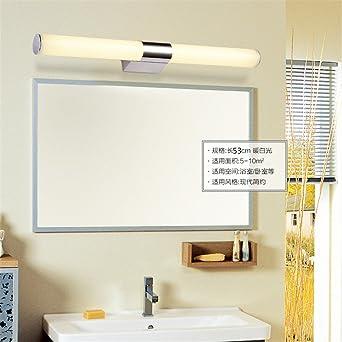 Spiegel vorderen Leuchte moderne Edelstahl Badezimmer Schlafzimmer ...