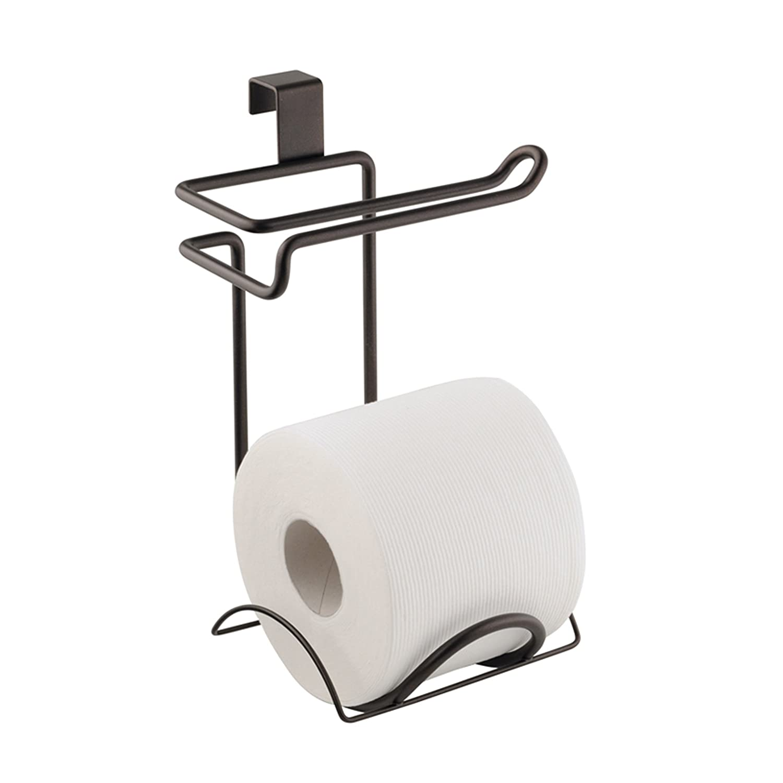 Amazon.com: InterDesign Classico Bathroom Over Tank Toilet Paper ...