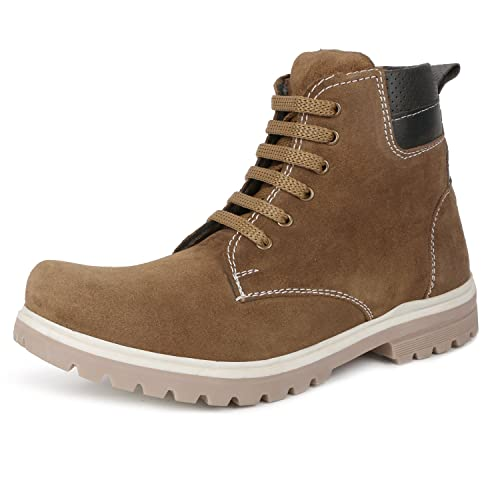e1cecea09f2b Escaro Men s Casual Lace Up Boots  Buy Online at Low Prices in India ...