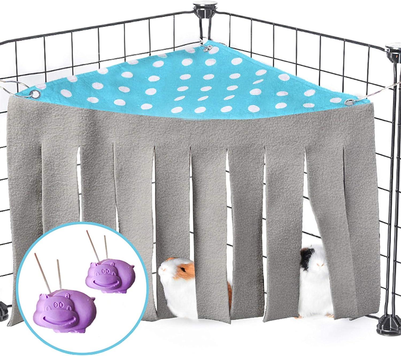 Handmade Pet Items Critter Nation Bed Cozy Rat Corner Guinea Pig Corner Hide Pet Accessories Hedgie Cuddle Hide Hedgehog Triangle Cube