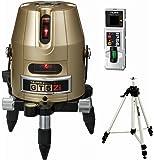タジマ レーザー墨出し器 GT5Zi 受光器・三脚セット 矩十字・横 GT5Z-ISET