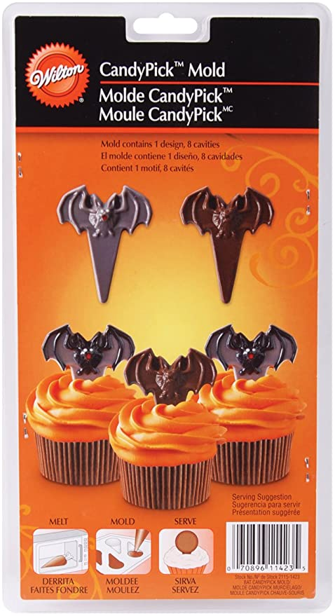Wilton Bat Candy Picks, Cupcakes mold