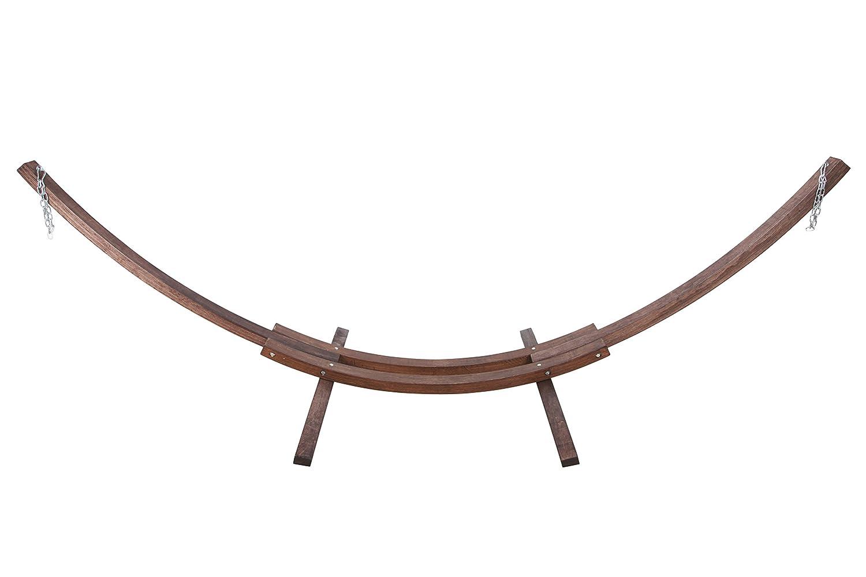 point-garden Hängemattengestell XXL Gestell für Hängematte Holzgestell Gewicht 29kg