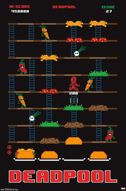 Trends International Marvel Comics - Deadpool - Game Wall Poster, 22.375