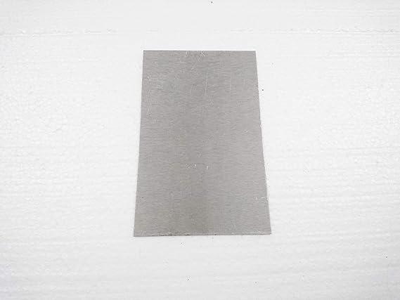 Light Metal Plates Magnesium Alloy Machinery Parts Magnesium Foil Sheet AZ31B 0.1576 Thin 4mm Magnesium Carving Board