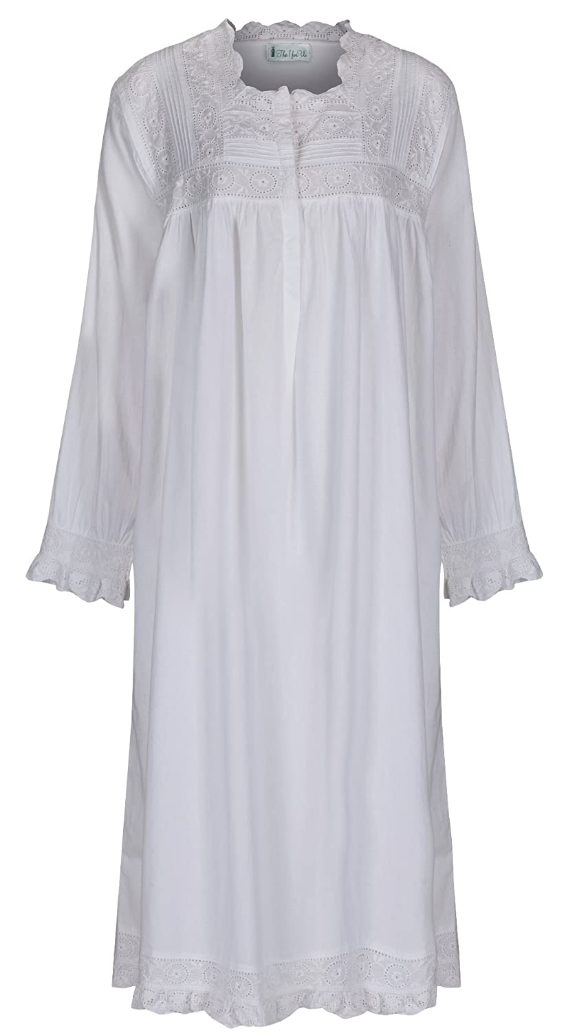 The 1 for U Henrietta 100% Cotton Victorian Nightgown with Pockets 7 ...