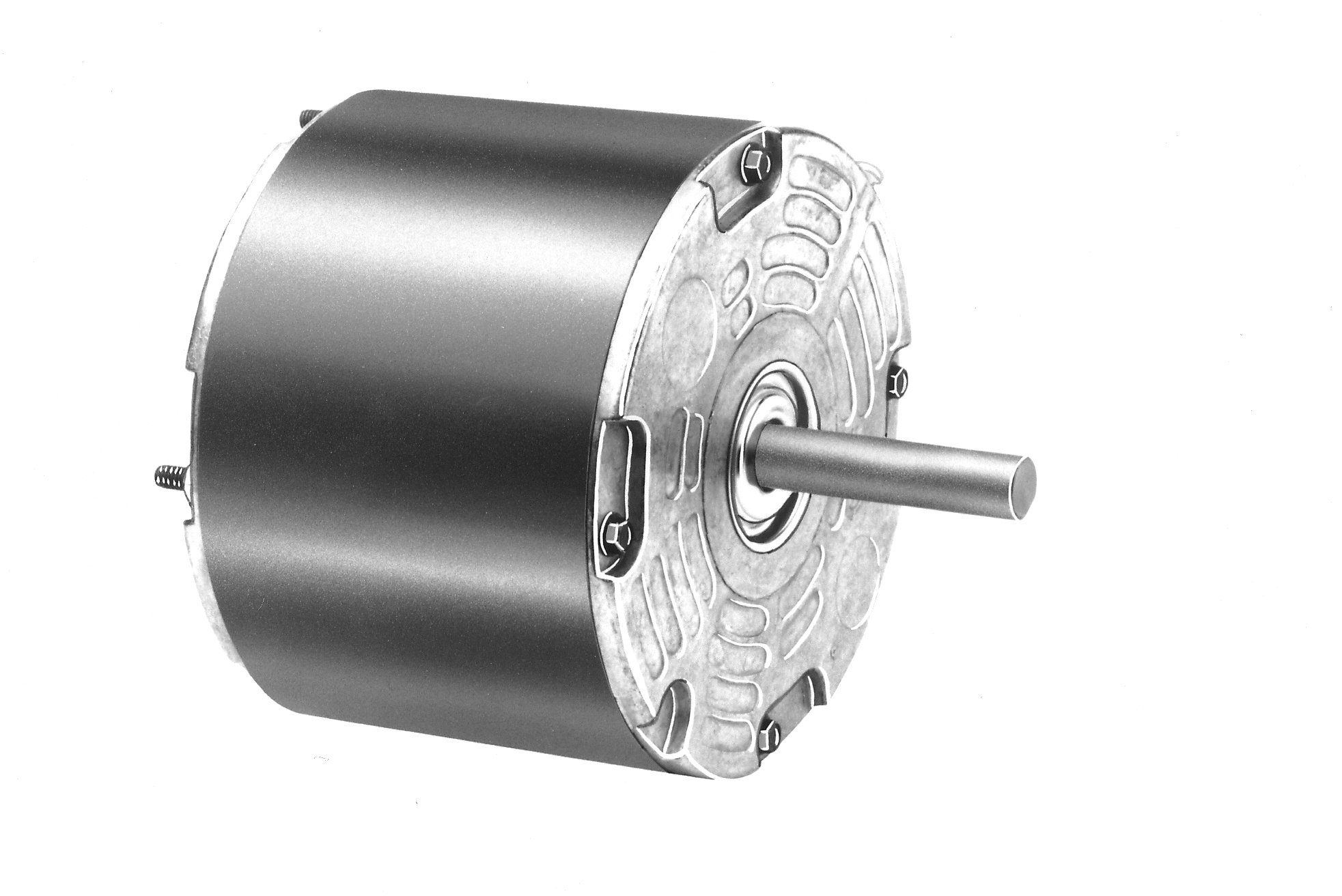Fasco D1071 5'' Frame Permanent Split Capacitor Heil-Quaker Totally Enclosed OEM Replacement Motor with Sleeve Bearing, 1/6HP, 1100rpm, 208-230V, 60 Hz, 0.99amps by Fasco (Image #1)