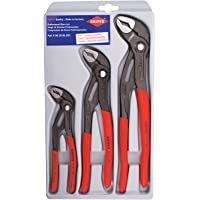 KNIPEX Tools 00 20 06 US1, Cobra Pliers 7, 10, and 12-Inch Set, 3-Piece