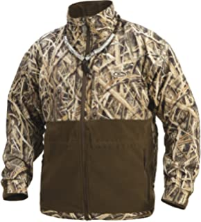 Drake Mens MST Camo Eqwader Plus Full Zip