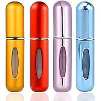 ZOEON Atomizador Perfume Recargable, 4 Piezas Pulverizador Perfume