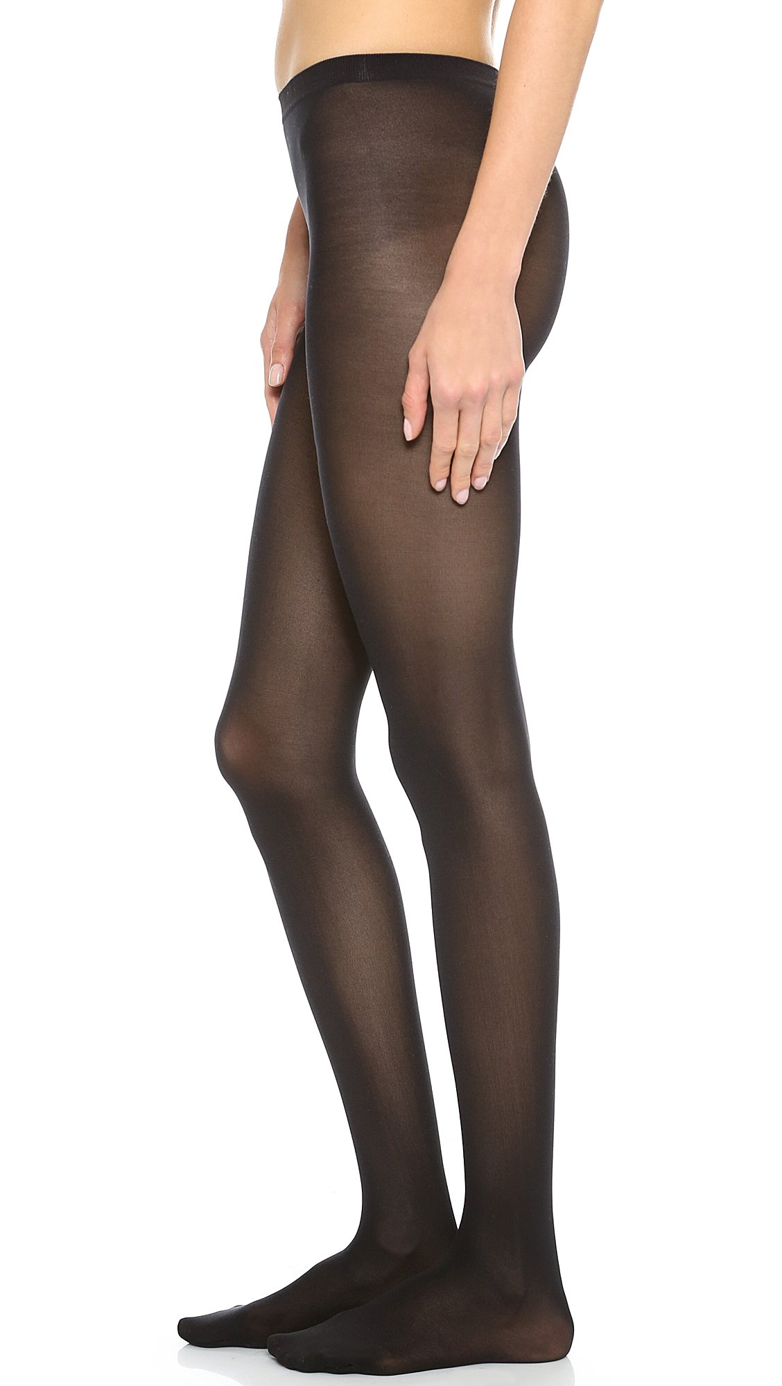 Wolford Women's Velvet De Luxe 50 Tights, Black, Medium by Wolford