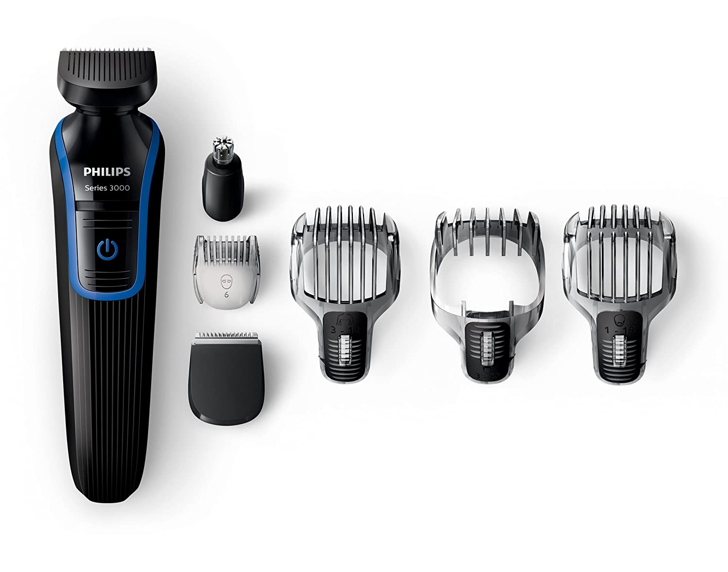 Philips QG3337/15 7 in 1 Waterproof Mens Grooming Kit UK Plug [Importación inglesa]: Amazon.es: Salud y cuidado personal