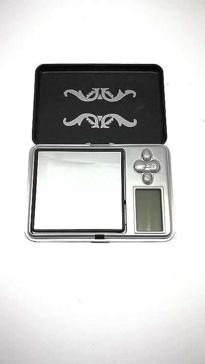 Mini bascula digital precision balanza pesa micras 0,01g a 200g joyeria OF2515
