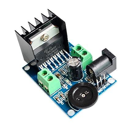 Covvy Módulo Amplificador TDA7297 Módulo Amplificador de Audio, 2.0 Tarjeta de Amplificador Estéreo de Doble