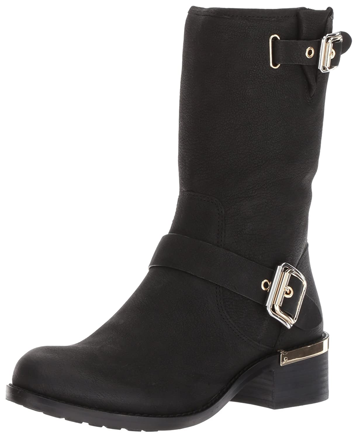 Vince Camuto Women's Windy Motorcycle Boot B071VZ1GNH 7.5 B(M) US|Black