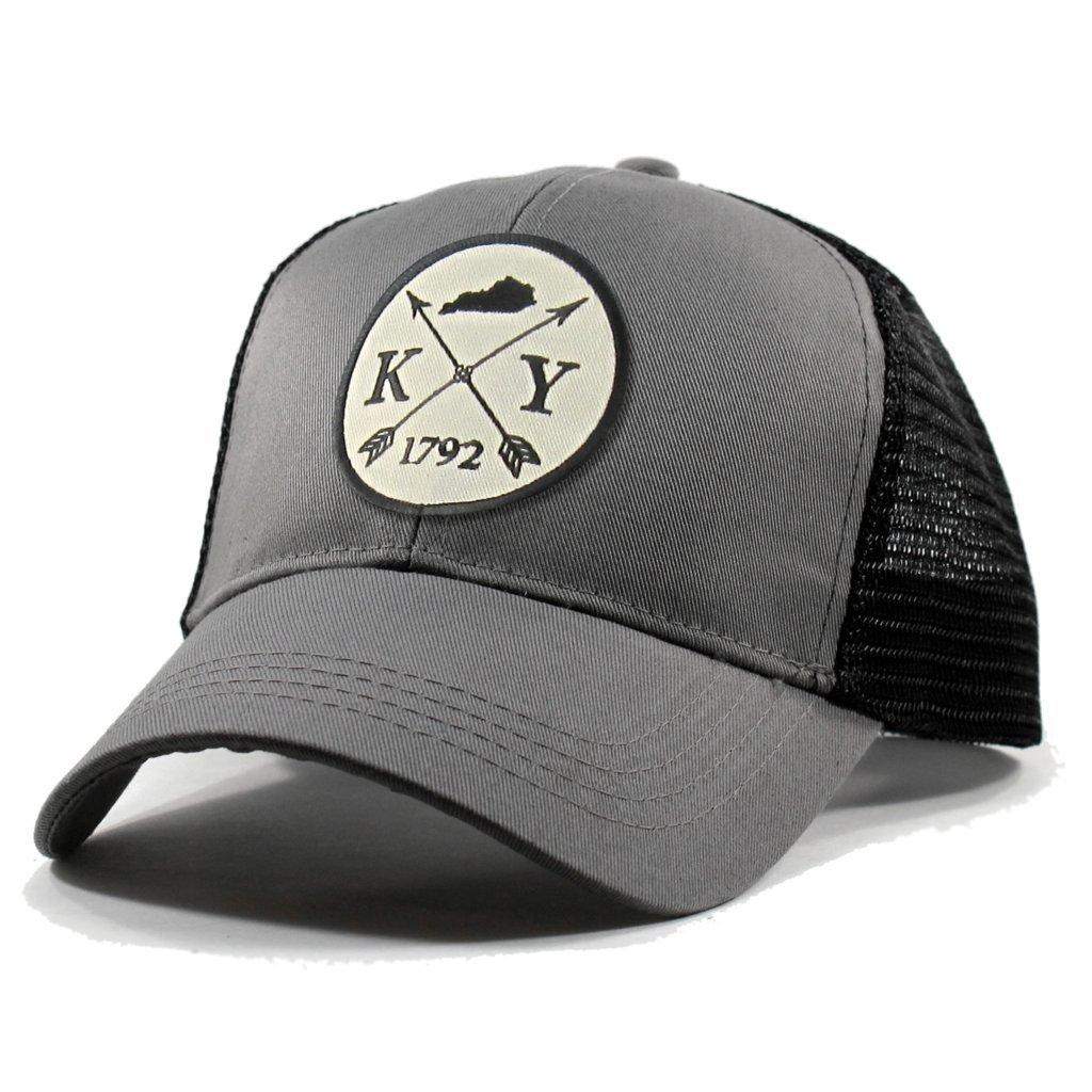 Homeland Tees Mens Kentucky Arrow Patch Trucker Hat