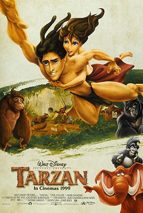 Image result for tarzan movie poster