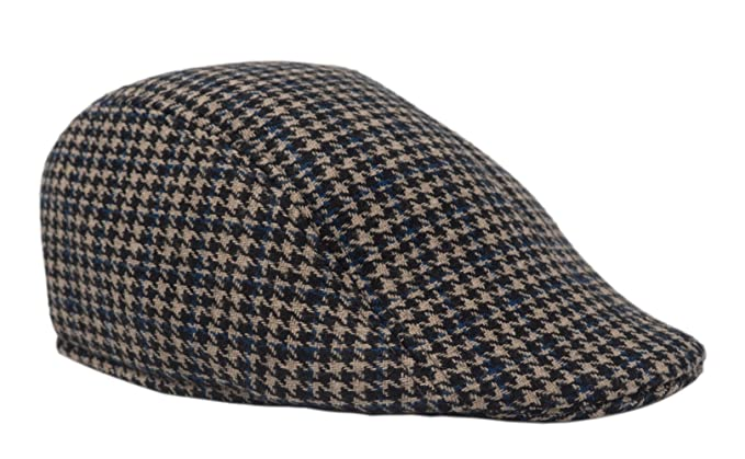 Gorra Gatsby de tweed, sombrero de hombre, visera plana, ivy, boina,