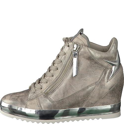 Gabor Damenschuhe 62.676.62 Damen Sneaker, Wedge-Sneaker, Schnürer, Schnürhalbschuhe, Mehrweite