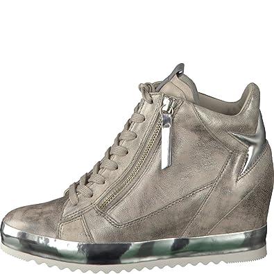 Gabor Damenschuhe 62.676.62 Damen Sneaker, Wedge-Sneaker, Schnürer,  Schnürhalbschuhe, Mehrweite Pink (Rose), EU 9  Amazon.de  Schuhe    Handtaschen e4872dfe2f