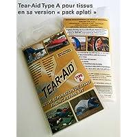 Kit de réparation de tissu Tear-Aid Type A - Instantané, permanent et quasi-invisible