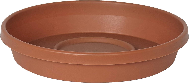 "Bloem Terra Plant Saucer Tray 15"" Terra Cotta"