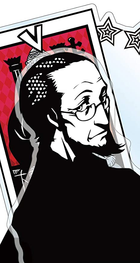 ペルソナ 佐倉 惣治郎(さくら そうじろう) iPhoneSE/5s/5c/5 壁紙 視差効果画像