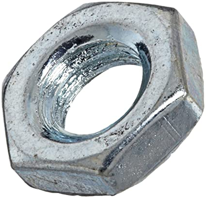M22 ALL SIZES HIGH TENSILE HEXAGON FULL NUTS DIN 934 PLAIN STEEL 8 HEX NUTS M5