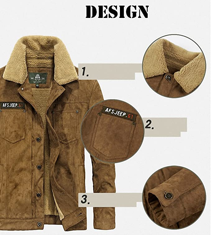 Jacket Men Casual Winter Jacket Coat Men Thick Fleece Warm Coat Windbreaker Mens Outerwear chaqueta hombre at Amazon Mens Clothing store: