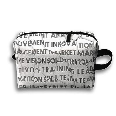 d2a60f09d96e Letter Germetry Black Symbol Multifunction Portable Pouch Waterproof ...