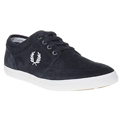 Baskets Fred Perry Stratford Suede Navy bYtrrT