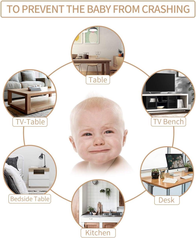 Baby Safety Desk Table Edge Corner Protector Cushion Guard Strip Soft Bumper Plf