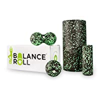 Balance Roll - Mini Set - Faszienrolle - Made in Germany (Rolle klein, Ball & Duoball)