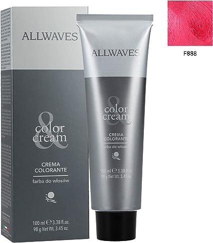 ALLWAVES Professional Cream Color F888 - Tinte para el ...