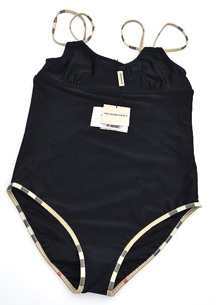 molto carino f6177 bf185 Burberry Costume Intero Bambina Nero Art. B10294/009 14 Anni ...